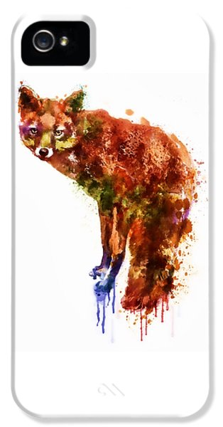 Foxy Lady Watercolor IPhone 5 Case