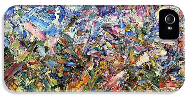 Fragmented Garden IPhone 5 Case by James W Johnson
