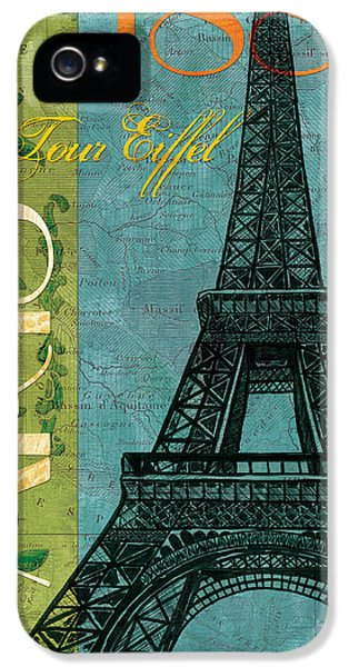 Francaise 1 IPhone 5 Case by Debbie DeWitt