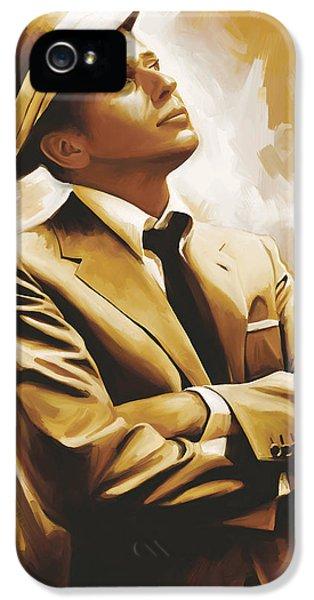 Frank Sinatra Artwork 1 IPhone 5 Case by Sheraz A
