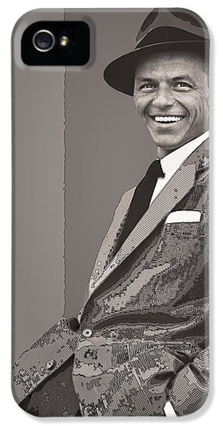 Frank Sinatra IPhone 5 Case by Daniel Hagerman