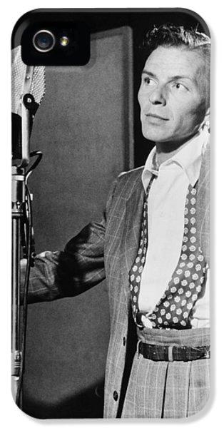 Frank Sinatra IPhone 5 Case by Mountain Dreams