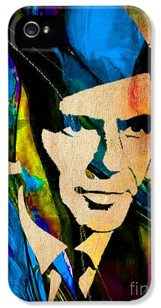 Frank Sinatra My Way IPhone 5 Case by Marvin Blaine