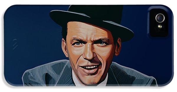 Jazz iPhone 5 Case - Frank Sinatra by Paul Meijering