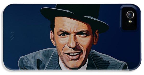 Frank Sinatra IPhone 5 Case by Paul Meijering