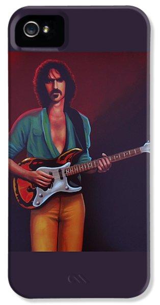 Frank Zappa IPhone 5 Case by Paul Meijering
