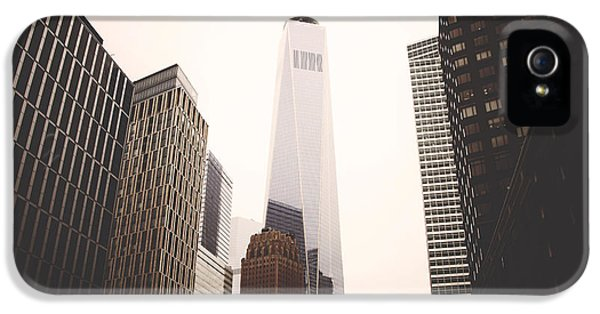 Freedom Tower  IPhone 5 Case by Amber Fite
