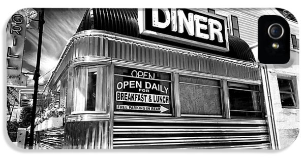 Freehold Diner IPhone 5 Case by John Rizzuto