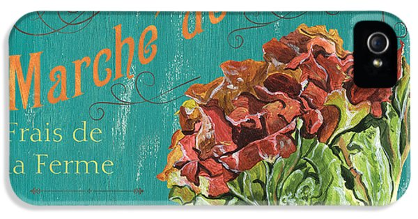 Lettuce iPhone 5 Case - French Market Sign 3 by Debbie DeWitt