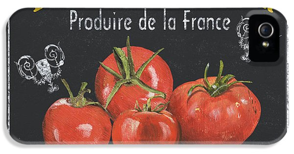 Tomato iPhone 5 Case - French Vegetables 1 by Debbie DeWitt