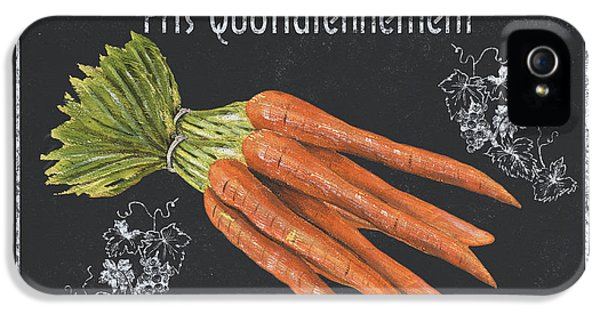 Carrot iPhone 5 Case - French Vegetables 4 by Debbie DeWitt