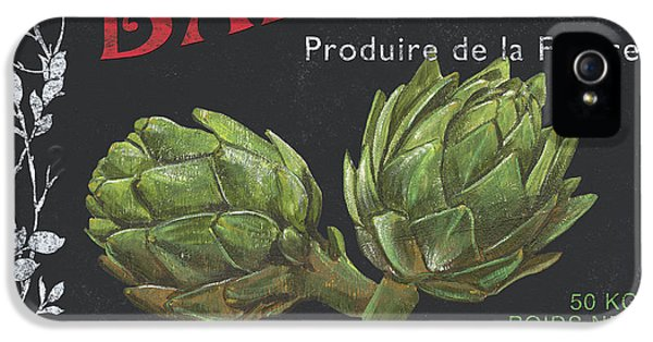 French Veggie Labels 1 IPhone 5 Case by Debbie DeWitt