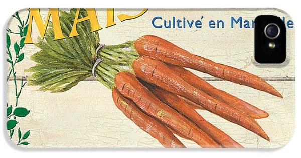 French Veggie Sign 2 IPhone 5 Case by Debbie DeWitt