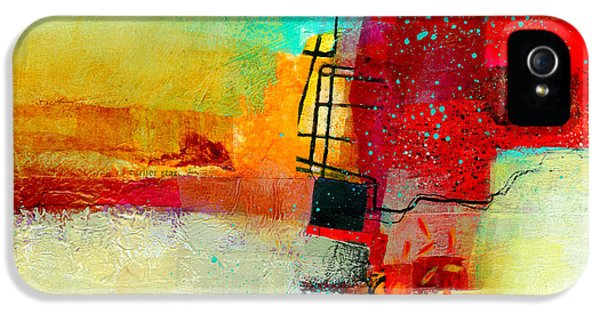 Abstract iPhone 5 Case - Fresh Paint #2 by Jane Davies
