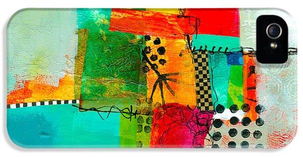 Fresh Paint #5 IPhone 5 Case by Jane Davies