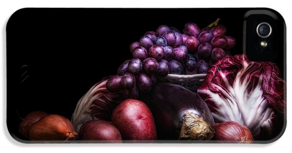 Lettuce iPhone 5 Case - Fruit And Vegetables Still Life by Tom Mc Nemar