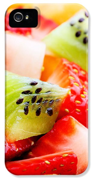 Fruit Salad Macro IPhone 5 Case by Johan Swanepoel