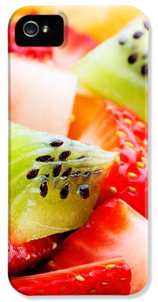 Fruit Salad Macro IPhone 5 Case by Johan Swanepoel