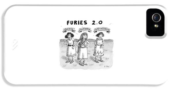 Furies 2.0 -- Ironia IPhone 5 Case