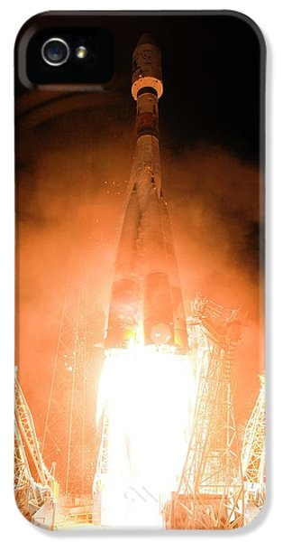 Gaia Space Probe Launch IPhone 5 Case by S Corvaja/european Space Agency