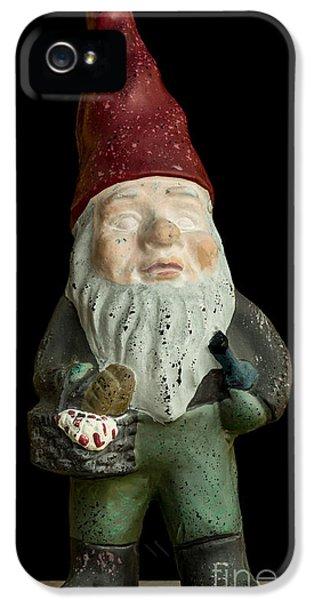 Elf iPhone 5 Case - Garden Gnome by Edward Fielding