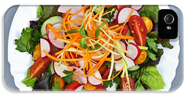 Garden Salad IPhone 5 Case by Elena Elisseeva