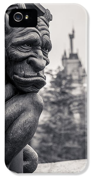 Castle iPhone 5 Case - Gargoyle by Adam Romanowicz