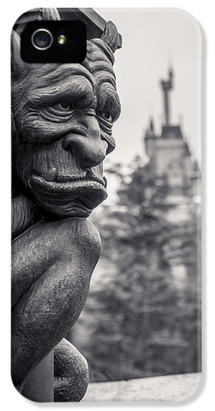 Castle iPhone 5 Case - Gargoyle by Adam Romanowicz