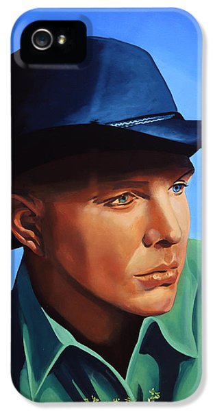 Saxophone iPhone 5 Case - Garth Brooks by Paul Meijering