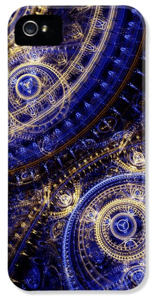 Gears Of Time IPhone 5 Case by Martin Capek