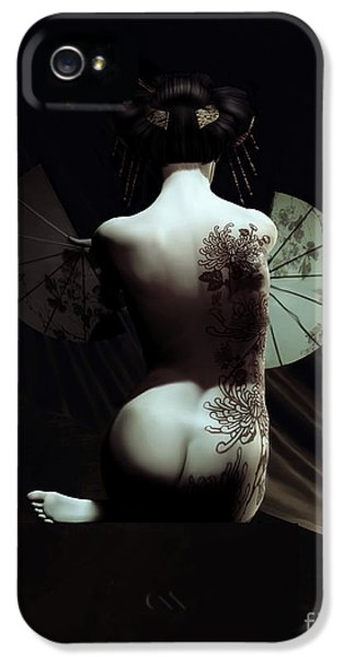 Geisha IPhone 5 Case by Shanina Conway