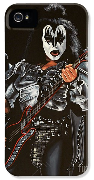Gene Simmons Of Kiss IPhone 5 Case