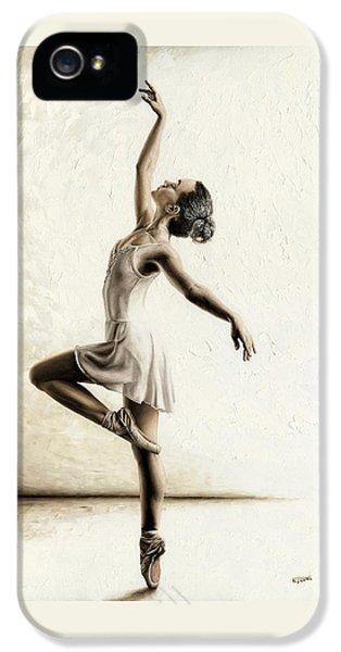 Genteel Dancer IPhone 5 Case by Richard Young