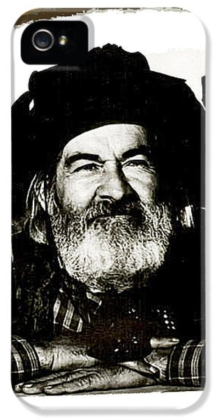 George Hayes Portrait #1 Card IPhone 5 Case