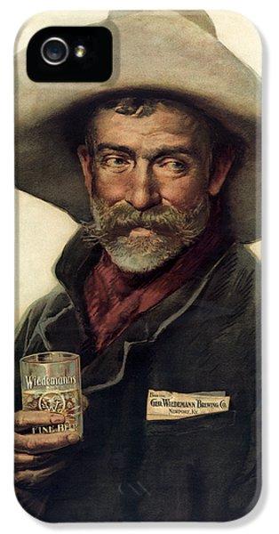 George Wiedemann's Brewing Company C. 1900 IPhone 5 Case by Daniel Hagerman