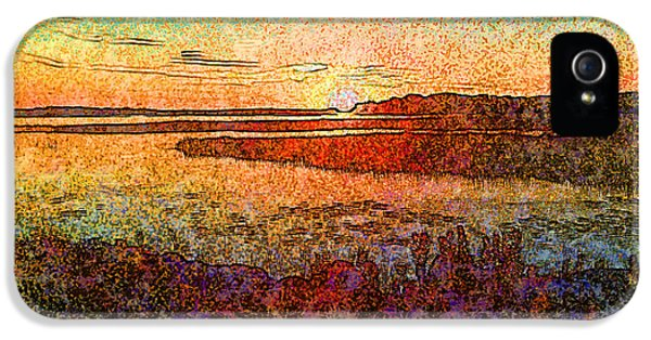 Georgian Bay Sunset IPhone 5 Case