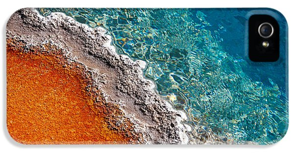 Geothermic Layers IPhone 5 Case by Todd Klassy