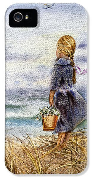 Girl And The Ocean IPhone 5 Case