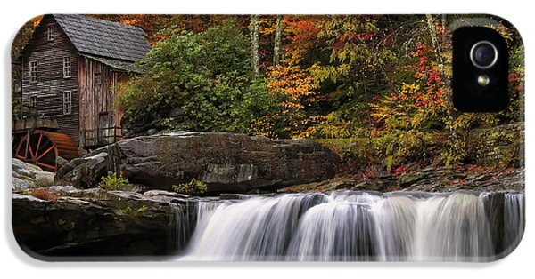 Glade Creek Grist Mill - Photo IPhone 5 Case
