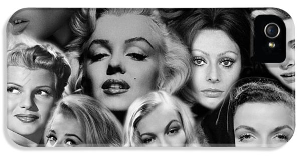 Glamour Girls 2 IPhone 5 Case by Andrew Fare