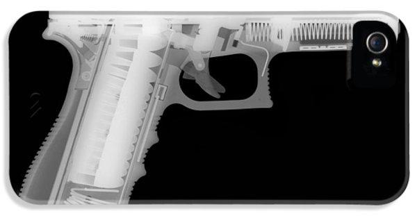 Glock G17 Reverse IPhone 5 Case by Ray Gunz