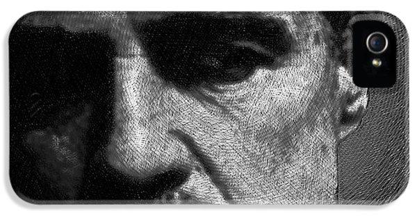 Godfather Marlon Brando IPhone 5 / 5s Case by Tony Rubino