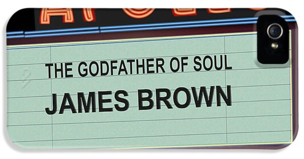 Godfather Of Soul IPhone 5 Case by Michael Lovell