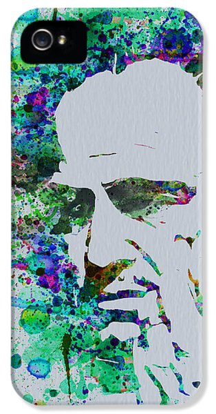Godfather Watercolor IPhone 5 Case