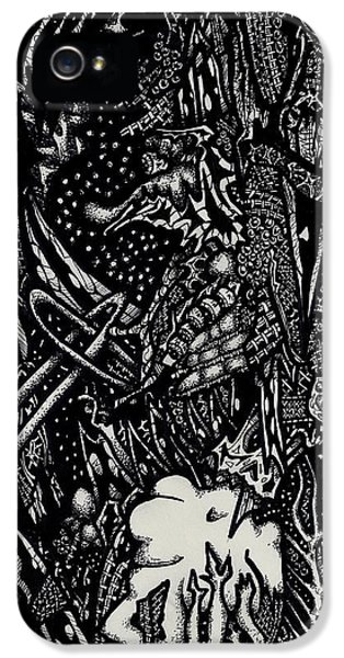 Gods' Plans Gone Awry IPhone 5 Case by Nathan Vanderbilt