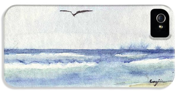 IPhone 5 Case featuring the painting Goelan Atlantique by Marc Philippe Joly
