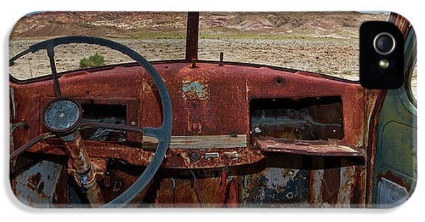 Truck iPhone 5 Case - Going Nowhere... by Dennis D Croxall