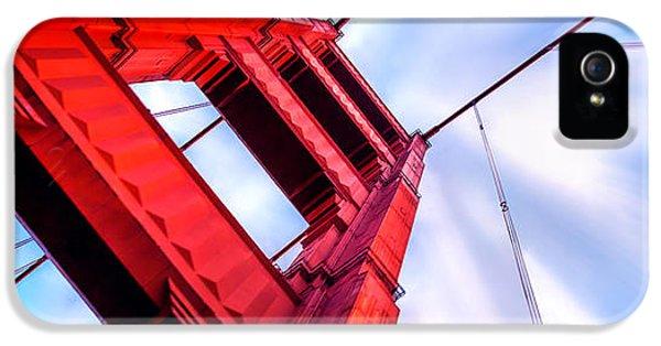 Golden Gate Boom IPhone 5 / 5s Case by Az Jackson
