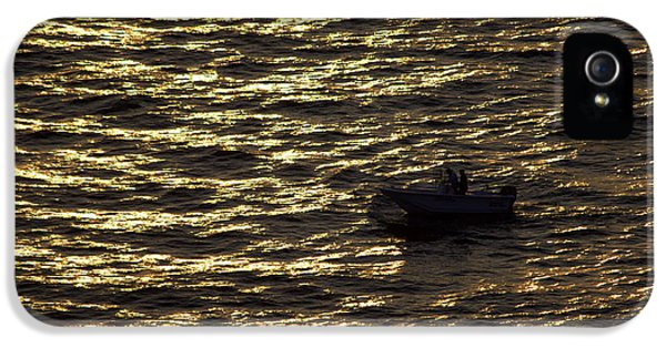IPhone 5 Case featuring the photograph Golden Ocean by Miroslava Jurcik