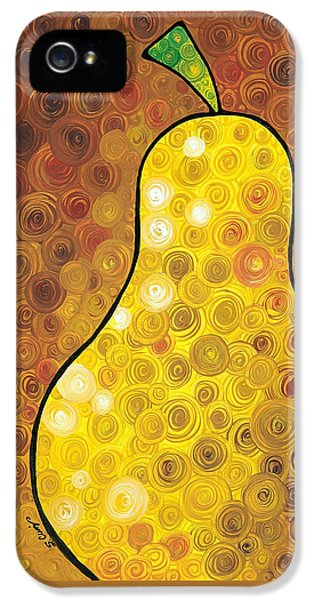 Golden Pear IPhone 5 Case